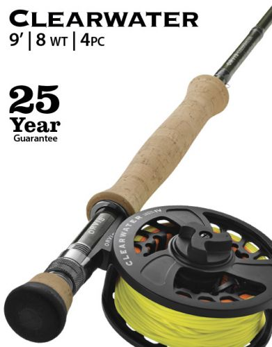 Clearwater Rod And Reel Outfit