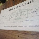 General Gift Certificates