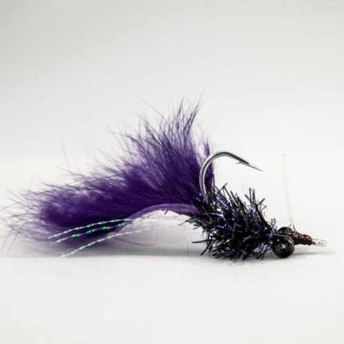 Black with Purple Tail